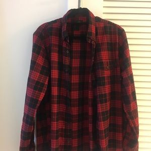Jcrew flannel button down